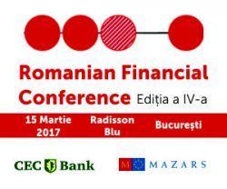 Romanian Financial Conference, 15 martie 2017