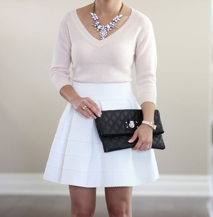 281 best images about Looks - Skirts - White on Pinterest | Skirts ...
