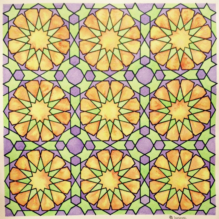 #geometry #symmetry #islamic #pattern #wallpaper #math #escher #McEscher #start #islamic_art #handmade #drawing #ink