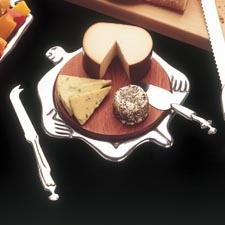 Carrol Boyes Trivet/Cheese Board Hot Stuff