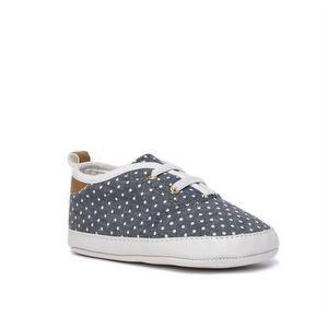 Osh Kosh B'Gosh Polka Dot Chambray Sneakers