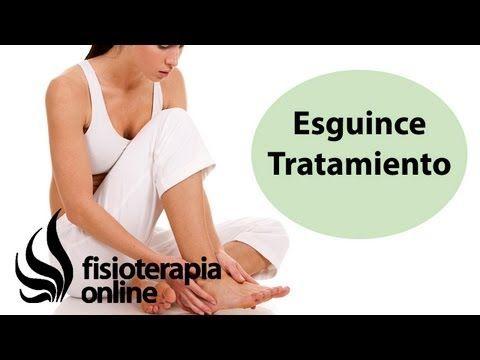 Fisioterapia online. Esguince de tobillo