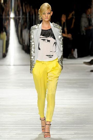 sequins + yellow