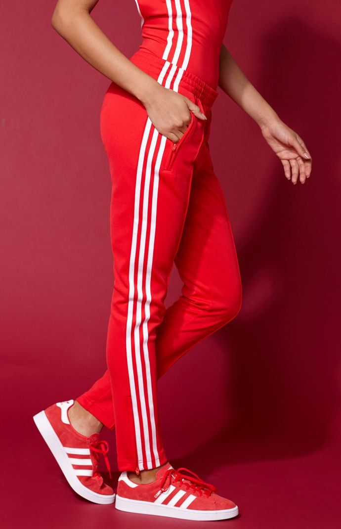 lowest price fa11f 479f8 adidas Adicolor Red SST Track Pants at PacSun.com