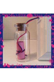 $3 Small Message in a Bottle  #handmade#bottle#wishbottle#messageinabottle#cute#pretty#small#cheap#diy#present#gift#idea#presentidea#giftidea