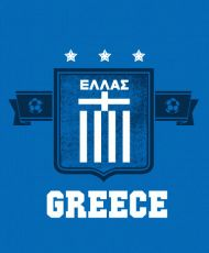 Hey all you soccer fans out there, if you're feeling Greek, show some pride for FIFA World Cup 2014! The mighty white and blue will always reign supreme. This Greece Soccer t shirt is an excellent way to show exactly whose team your on. And, of course, you're on the right team. Go team! Professionally screenprinted on 100% cotton for long lasting wear. THESE ARE ALSO OFFERED IN WOMENS- LADIES- GET YOUR FANWEAR HERE! Professionally screenprinted for long-lasting wear and quality.