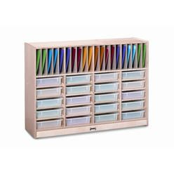 Jonti-Craft Homework Station 40 Compartment Cubby - Bin: With