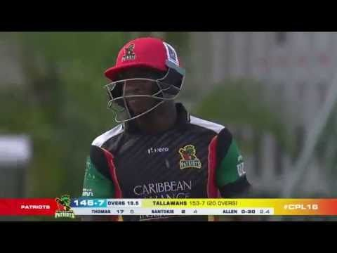 Caribbean Premier League T20 2016 Highlights HD -- St Kitts and Nevis Pa...