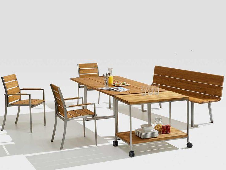 Popular Niehoff Gartenm bel Set Noah Teak kaufen im borono Online Shop