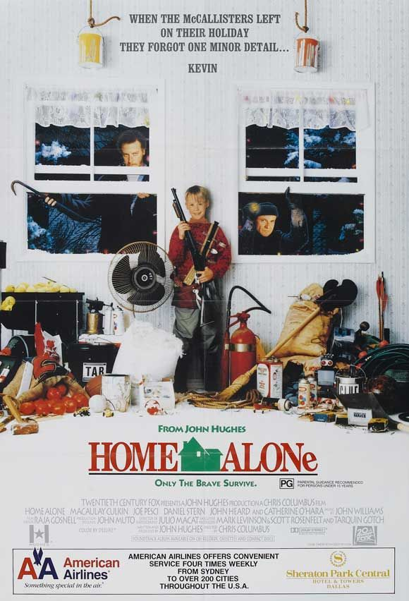 Home Alone // I could watch this movie on repeat and not get sick of it. One of the best holiday movies!  ;-$
