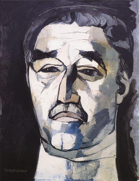 Gabriel Garcia Marquez, por Guayasamin