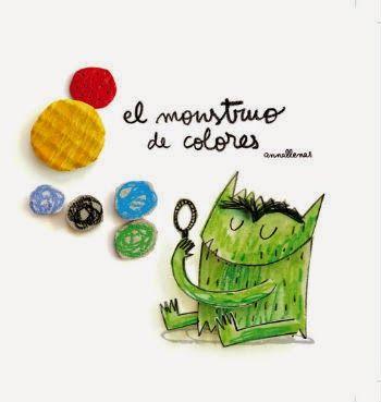 Libro infantil imprescindible El monstruo de colores