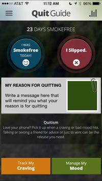 QuitGuide mobile screenshot