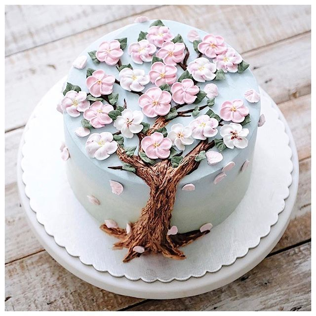 #spring #cake #flower #sweets