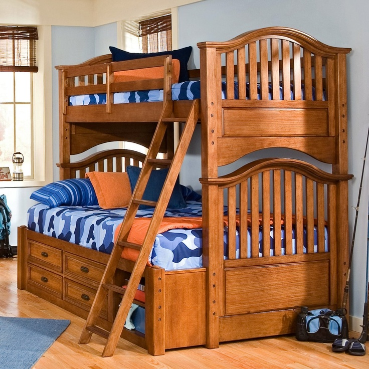 Best 35 Best Bunk Beds With Trundle Images On Pinterest 3 4 400 x 300