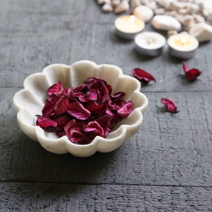 Natural White Marble Potpourri Bowl for Home decor * Visit the image link more details. (This is an affiliate link and I receive a commission for the sales)