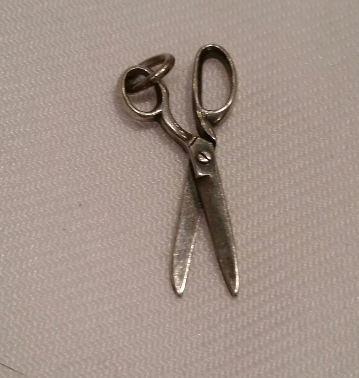 James Avery Sterling Scissors Charm Rare Retired Sewing and Hair Shears Pendant Silver by BohemianUnicorn on Etsy https://www.etsy.com/listing/253683487/james-avery-sterling-scissors-charm-rare