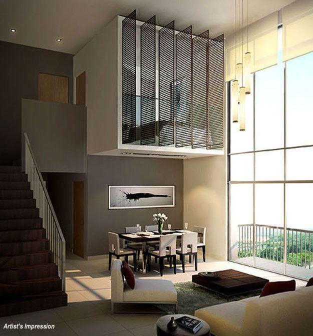 Split Level Loft Small Home Interior Small Homes