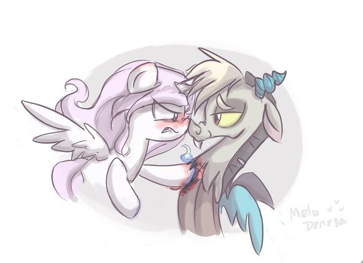 48 Best Fluttershy And Discord Images On Pinterest
