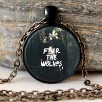 THE WALKING DEAD Necklace Pendant Rick Grimes Fear the wolves punk jewelry Gothic Glasses ancient Pendant Necklace gift Chain //Price: $9.95 & FREE Shipping //     #walkingdead
