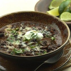 Slow-Cooker Black Bean-Mushroom Chili - EatingWell.com