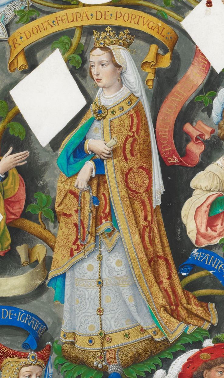 Filipa de Lencastre, Rainha de Portugal - The Portuguese Genealogy