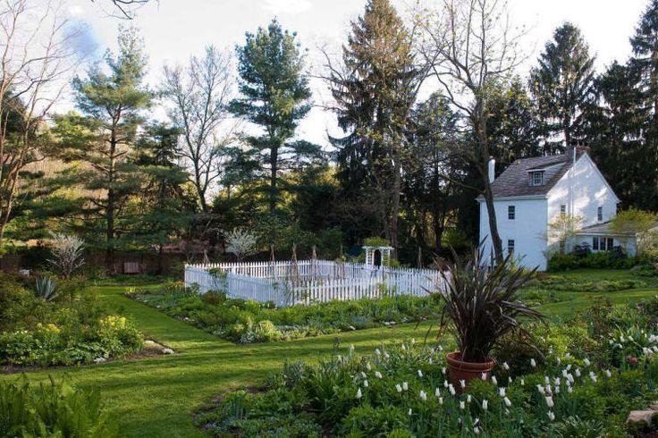 David L Culp Gallery Vegetable Border Jardin Quatre