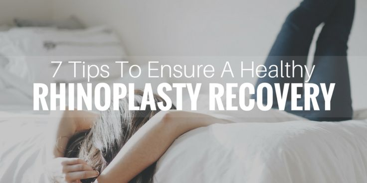 Often times a patient's biggest fear is mishandling their post-op recovery due to being misinformed. Everyone wants to have a healthy route to recovery, especially after undergoing a facial procedure such as a rhinoplasty. Most patients understand that a rhinoplasty can cause swelling, bruis