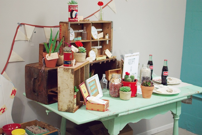 Lauren Elise Crafted - Blog - Confetti Lab: Decor &Display: Table Display, Elise Crafted, Colour Schemes