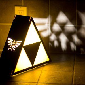 Legend Of Zelda Triforce Lamp Shut Up And Take My Yen