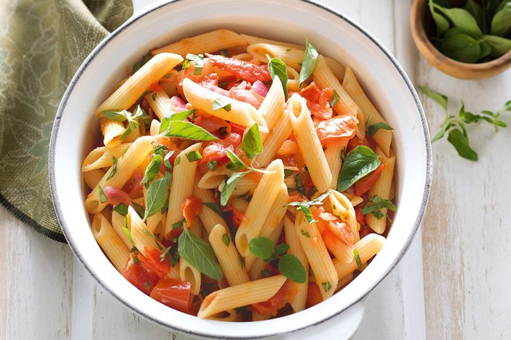 The key to this tasty penne pasta is quality fresh ingredients.