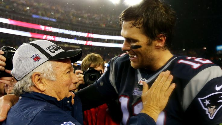 Patriots' Robert Kraft: Have always had, and will continue to have, Tom Brady's back