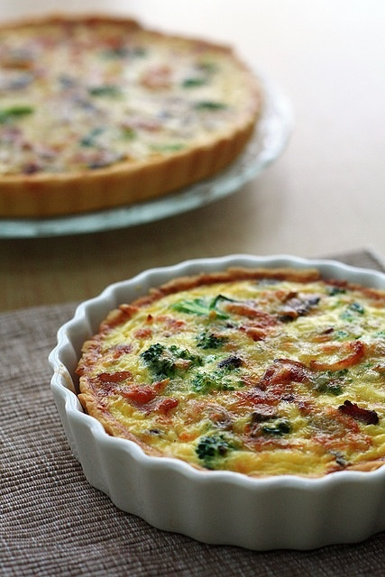 watercress quiche salmon and watercress quiche recipe yummly salmon ...