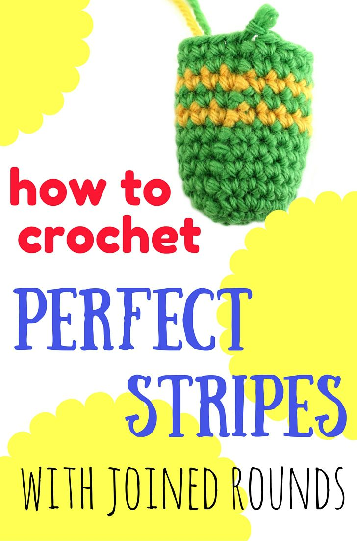 Amigurumi Joined Rounds : Perfect stripes with joined rounds in amigurumi by ...