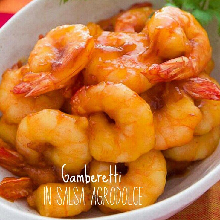 Gamberetti in salsa agrodolce - ricetta cinese