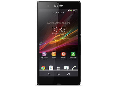 Sony Xperia Z. Yeni telefonum!