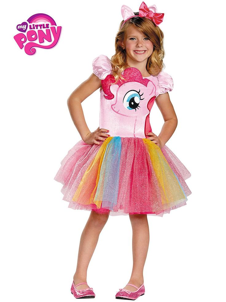 My Little Pony Pinkie Pie Tutu Prestige Girl's Costume! See more #costume ideas for Halloween and more at CostumeSuperCenter.com