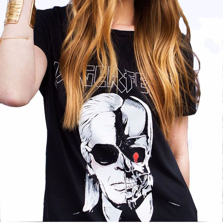 T-shirts Women Skull Ghost Pattern  http://mobwizard.com/product/2016-summer-letter-l32681382119/