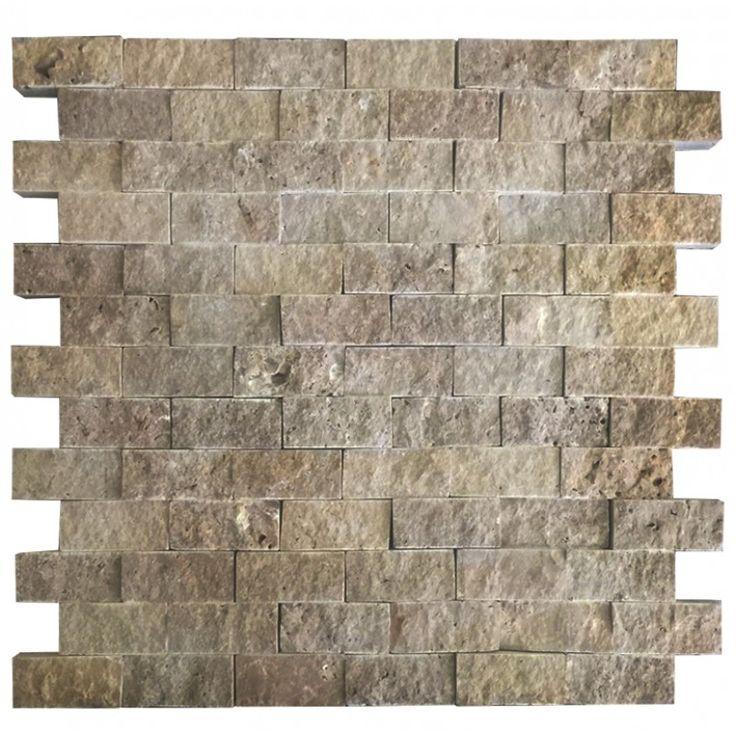 Noche 2.5X5 Fileli Patlatma Taş  www.tasdekorcum.com #dekor #patlatmatas #mozaik #dogaltas#naturalstonemosaic #naturalstone  Natural Stone Mosaic Natural Stone Wall Natural Stone Mosaic Subway Wall Tile Fileli Patlatma Taş Doğal Taş Patlatma Mozaik