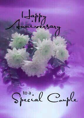 Happy Anniversary to Bryan and Christy White