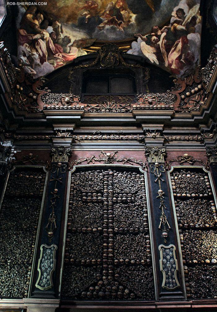 San Bernardino Alle Ossa (Bone Church) Milan Italy, Constructed circa 1269