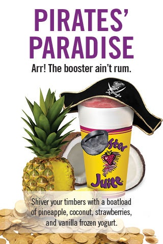 The Booster Juice Pirate's Paradise!