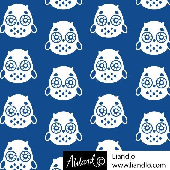 Uggla blå - Liandlo webshop