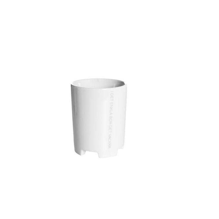 ERNST Mugg Citat Enkla Dia 8 cm Porslin, ERNST, -25% Muggar & Koppar |Kökets Favoriter