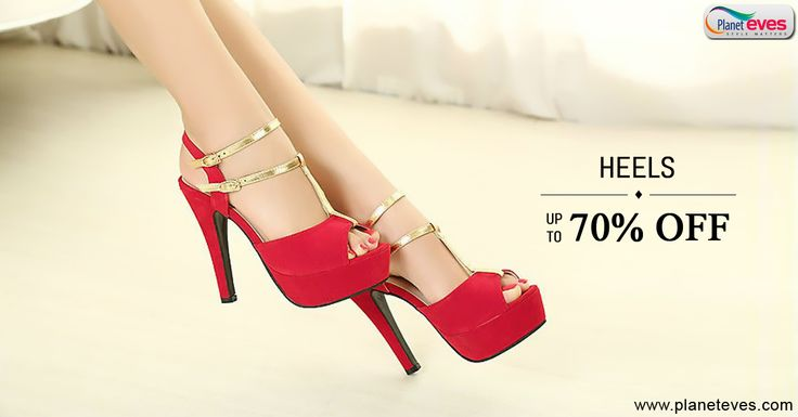 Biggest #Fashion Sale Get Upto 70% Off on High #Heels #Sandals for #Women at Planeteves.com. ? Free Shipping ? Cash on Delivery ? Easy Return. Hurry Up!!  Buy Now => http://goo.gl/92hwk5