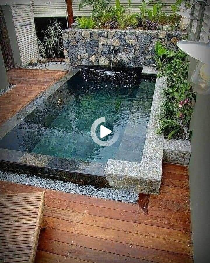 I M Sooooo Inloveee With This Tattoo I Should Really Get One Done Mys In 2021 Small Backyard Pools Small Pool Design Backyard Pool
