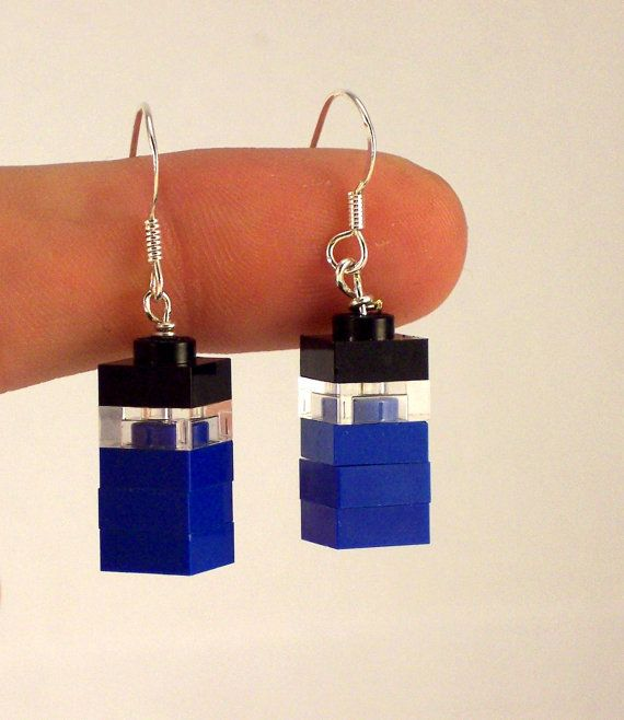 Hey, I found this really awesome Etsy listing at https://www.etsy.com/listing/186242763/lego-doctor-who-tardis-earrings-with