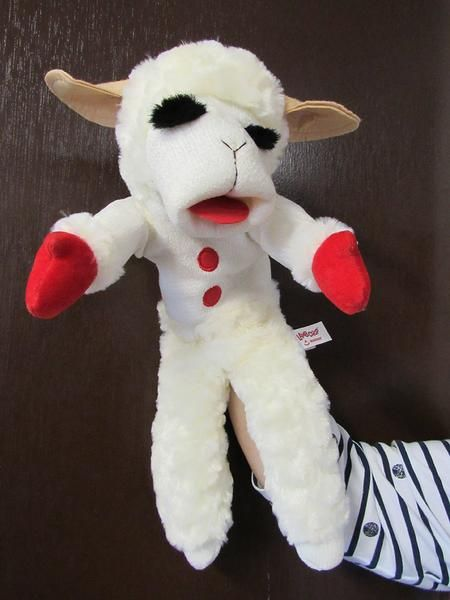Lamb Chop, the lamb, the legend! Lamb Chop is a sock puppet sheep created by late comedian and ventriloquist Shari Lewis. Provide hours of fun!