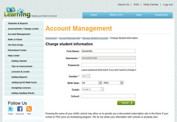 how to set up a parent portal account