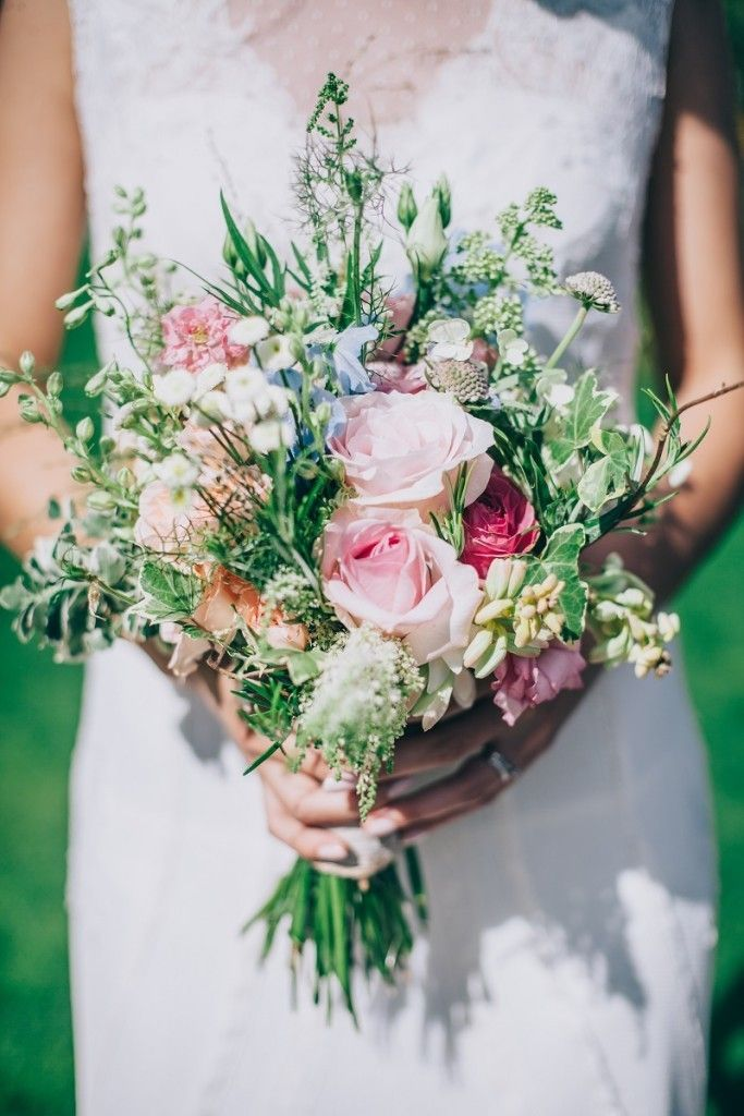 English Country Garden Wedding Flowers